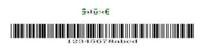 条形码软件bartender使用之五子串和共享名称